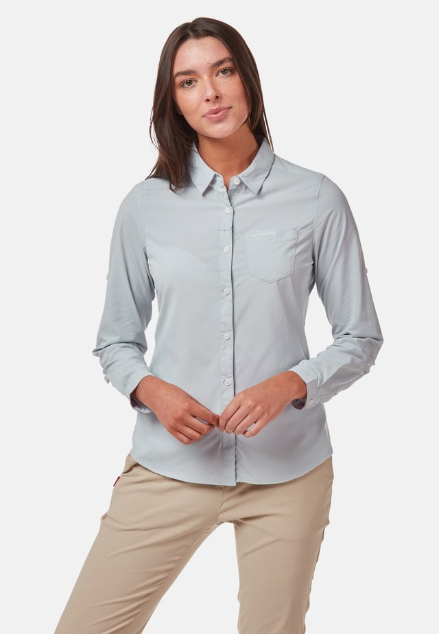 NOSILIFE - Button-down blouse - mineral blue