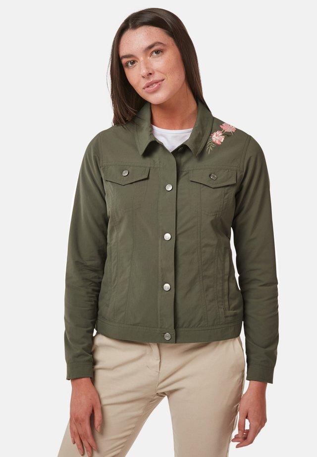 JULIANA - Summer jacket - evergreen