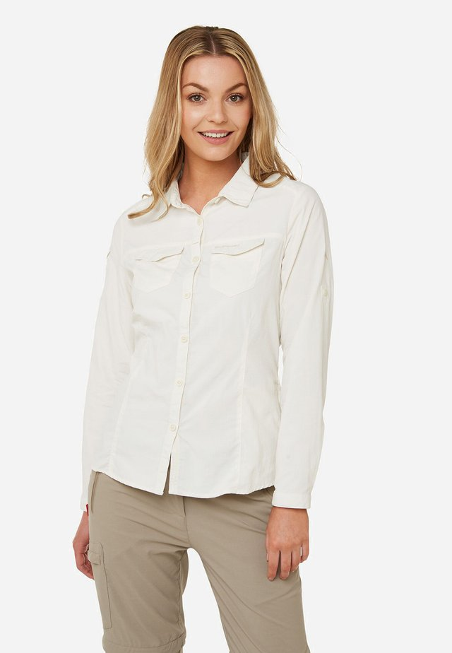 NOSILIFE ADVENTURE II - Button-down blouse - off-white