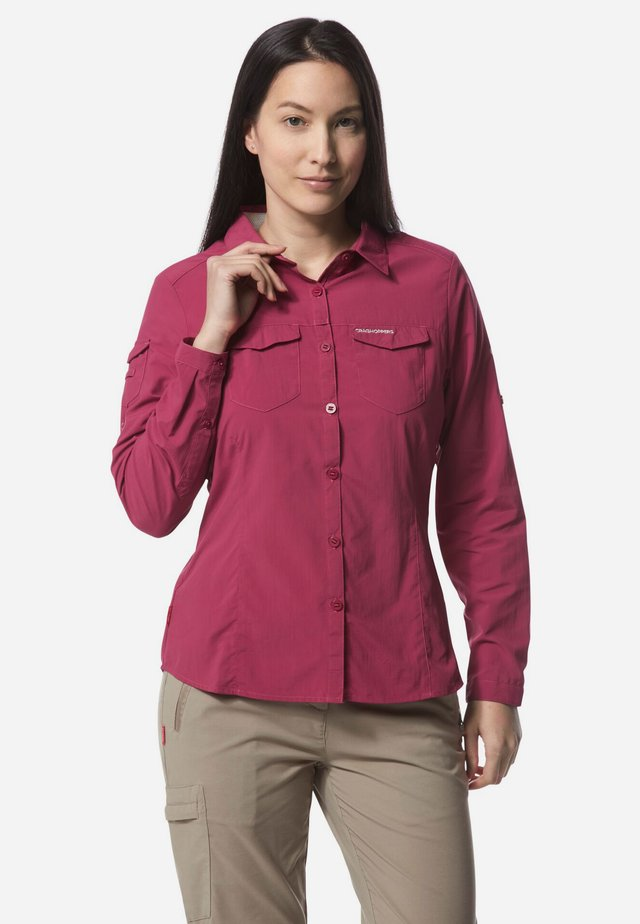 NOSILIFE ADVENTURE II - Button-down blouse - purple