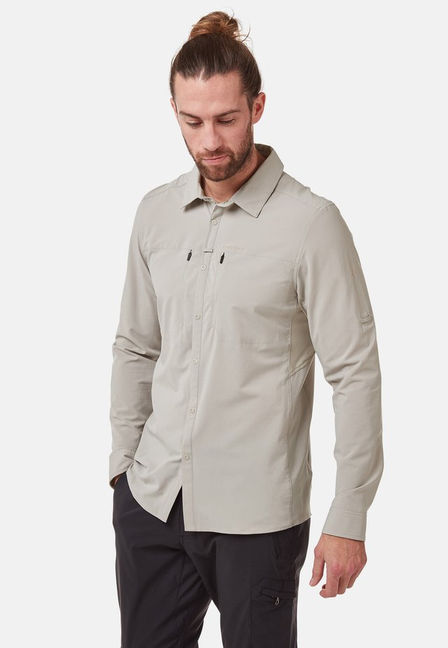 LONG SLEEVED - Shirt - parchment