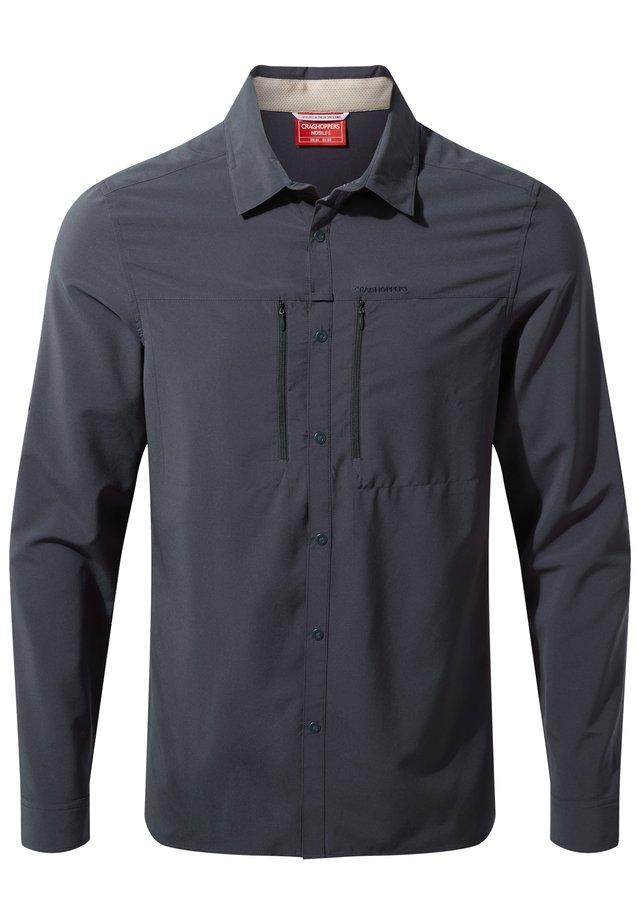 LONG SLEEVED - Shirt - steel blue