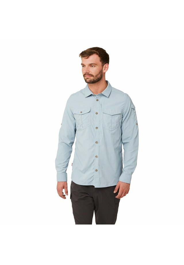 NOSILIFE ADVENTURE LANGARM - Shirt - fogle blue