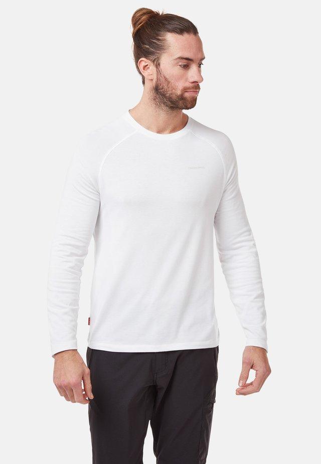 NOSILIFE BAYAME  - Long sleeved top - optic white