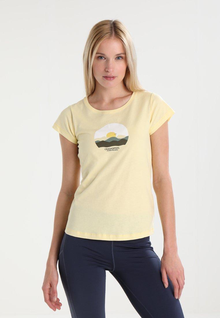 Craghoppers - VIOLET - T-shirt imprimé - buttercup