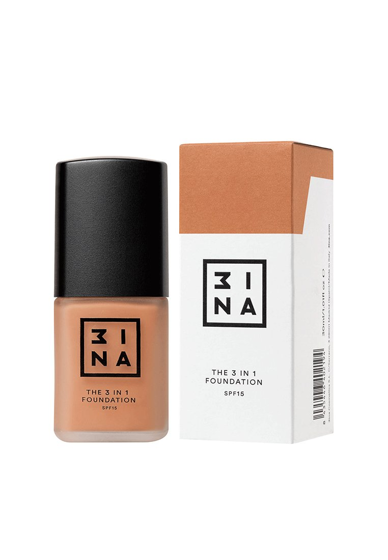 3ina 3 IN 1 FOUNDATION - Podkład - 218 tan