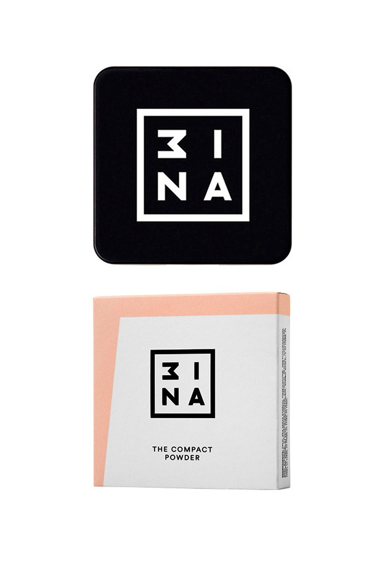 3ina COMPACT POWDER - Pudder - 201 beige