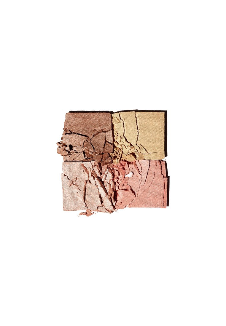 3ina THE GLOWING FACE PALETTE MULTICOLORED - Sminkpalett - 601 glowing
