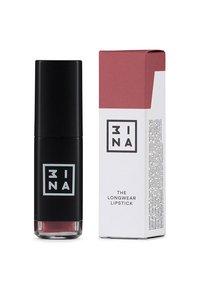3ina - LONGWEAR LIPSTICK - Flydende læbestift - 510 maroon - 1