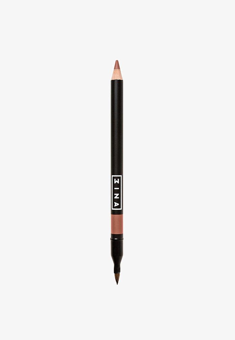 3ina - LIP PENCIL WITH APPLICATOR - Lippenkonturenstift - 502 dark nude beige