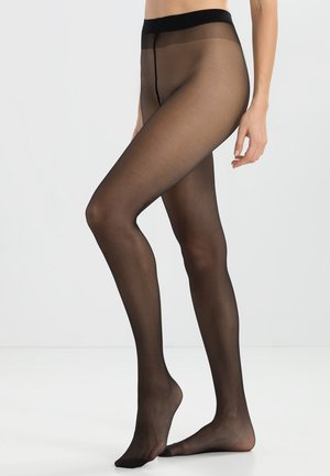 20 DEN SATIN LOOK - Tights - black