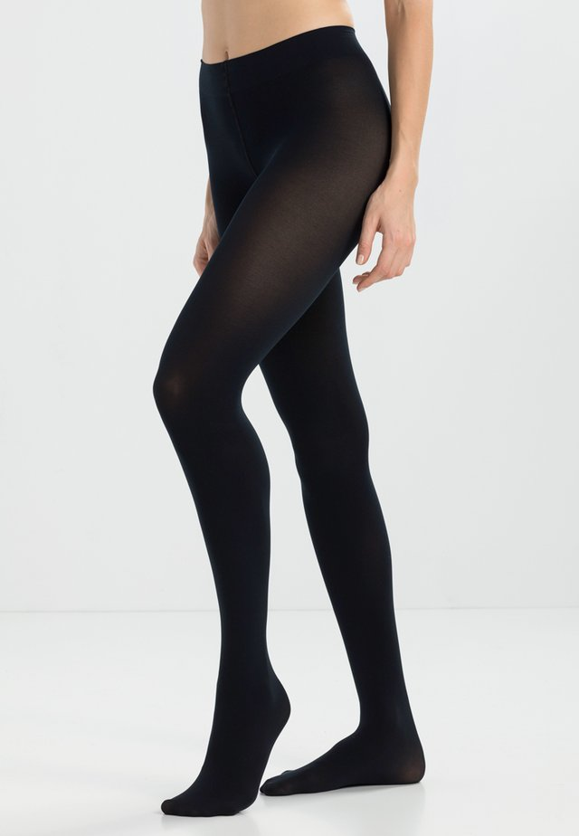 80 DEN VELVET - Tights - marine