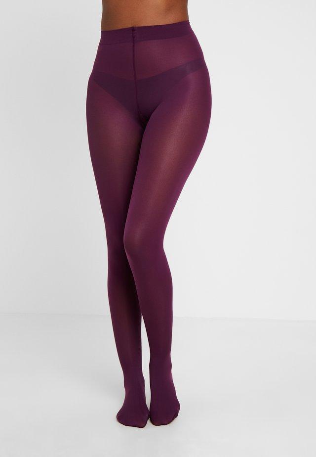 40 DEN VELVET - Strumpbyxor - purple pink