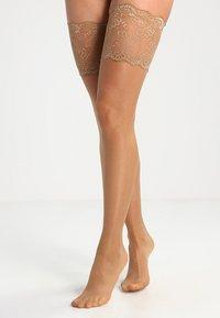 KUNERT - LOOK - Over-the-knee socks - cashmere - 0
