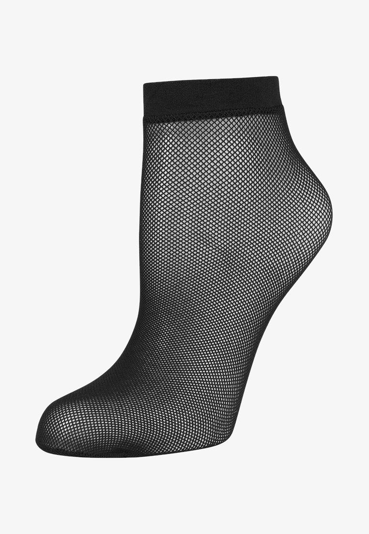 KUNERT - RAFFINESSE NET - Socks - black