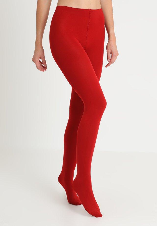 100 DEN MYSTIQUE - Collants - red