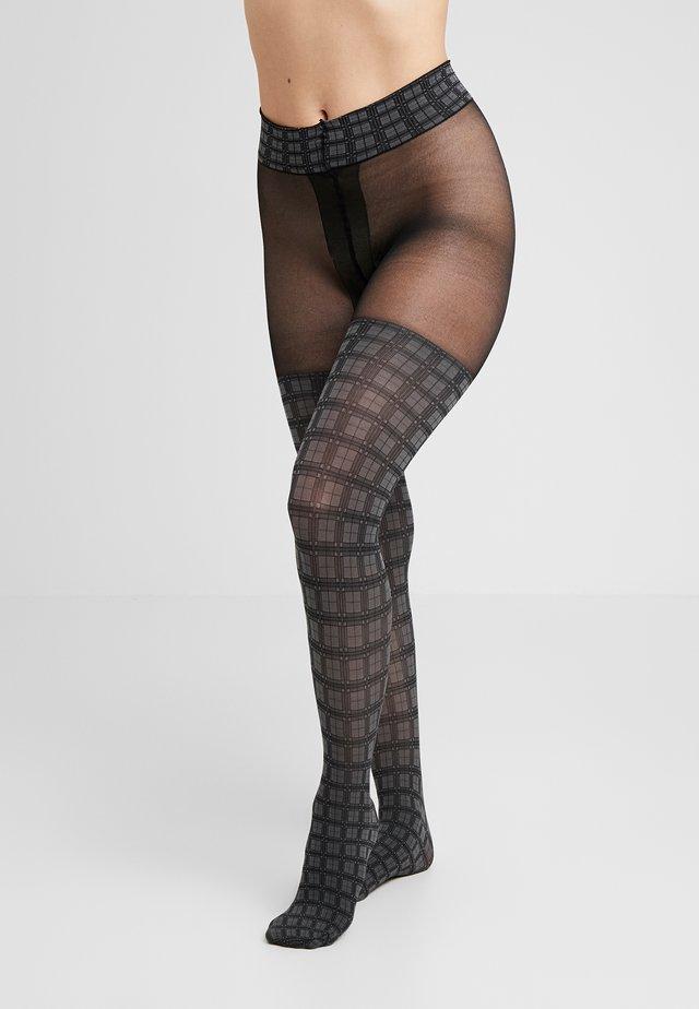 GLENCHECK - Collants - black