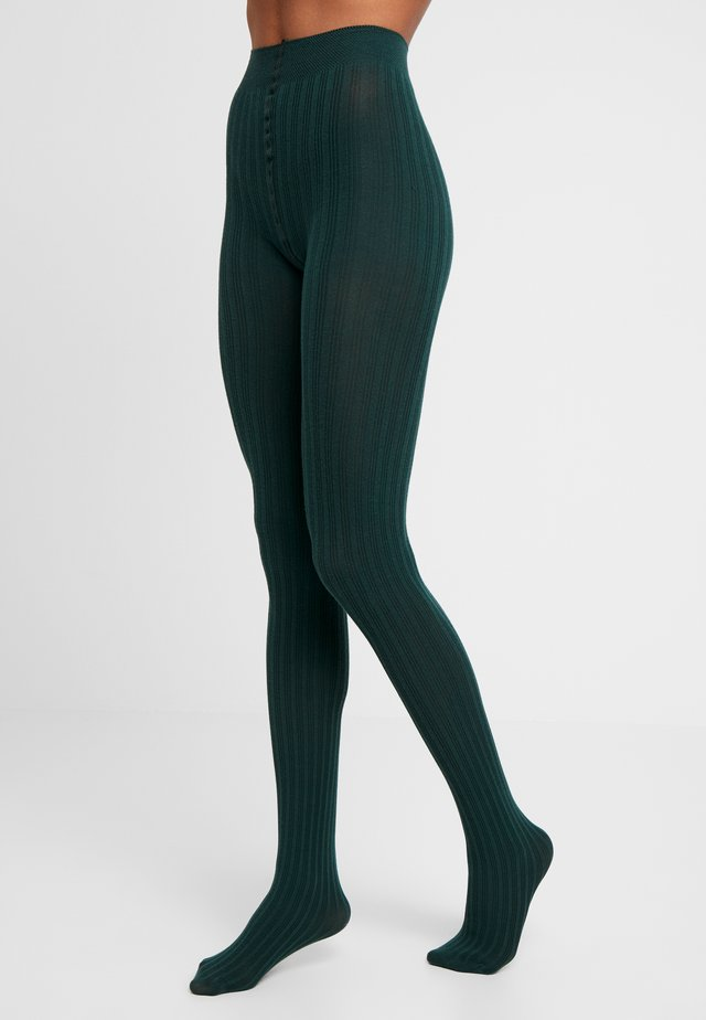 SIMPLY - Tights - bottle green