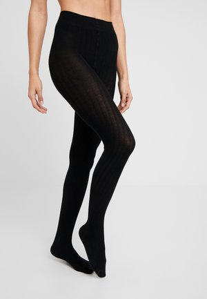 SIMPLY - Collants - black