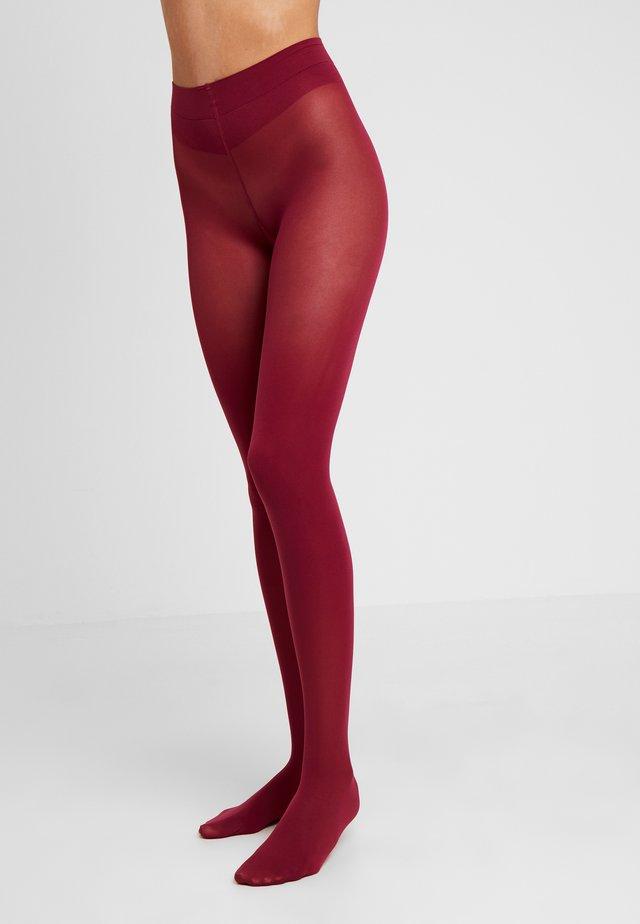 50 DEN BLUE - Collants - red plum