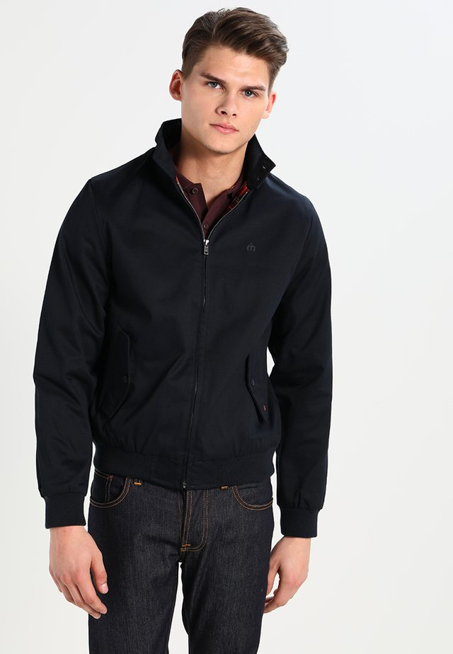 HARRINGTON - Bomberjacka - navy