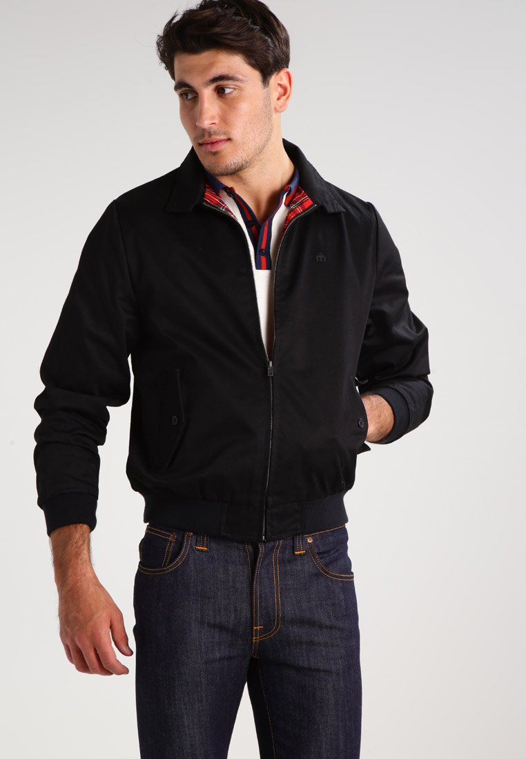 Merc - HARRINGTON - Blouson Bomber - black