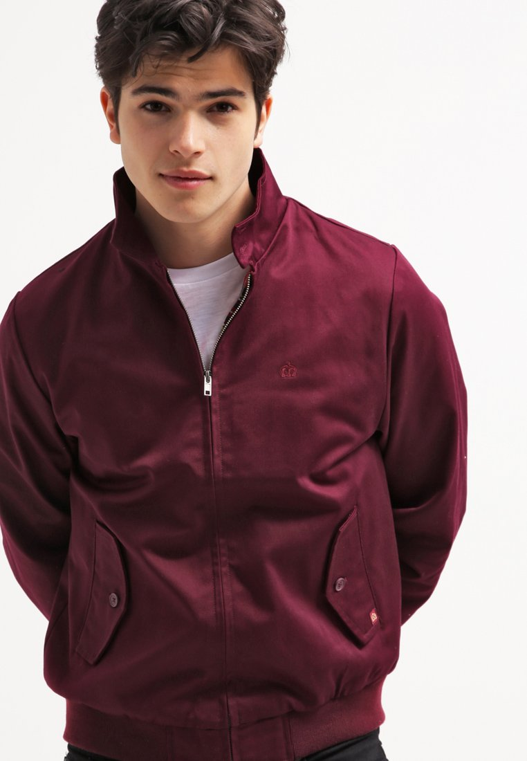 Merc - HARRINGTON - Bomber bunda - wine
