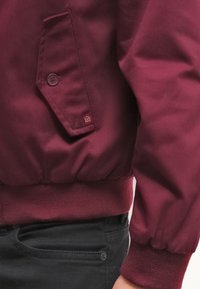 Merc - HARRINGTON - Bomber bunda - wine - 5