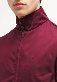 Merc - HARRINGTON - Bomber bunda - wine - 4