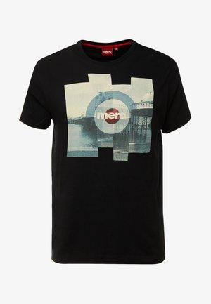 BRETT - T-shirt print - black