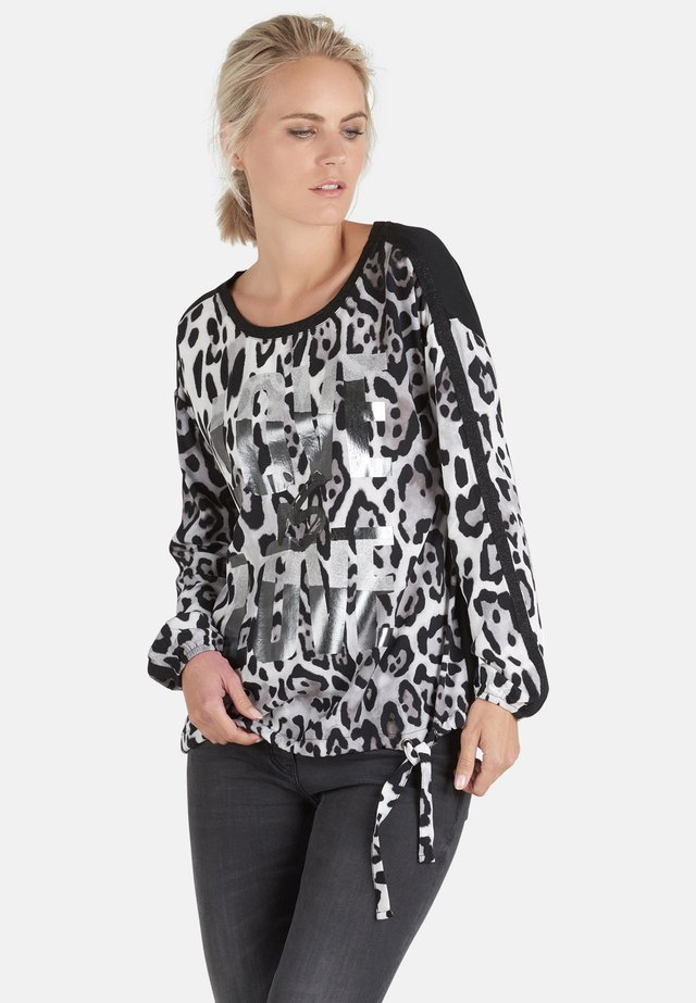 Blouse - black/stone