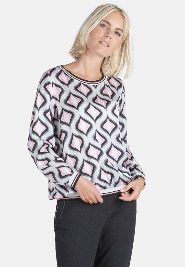 Blouse - grey/pink