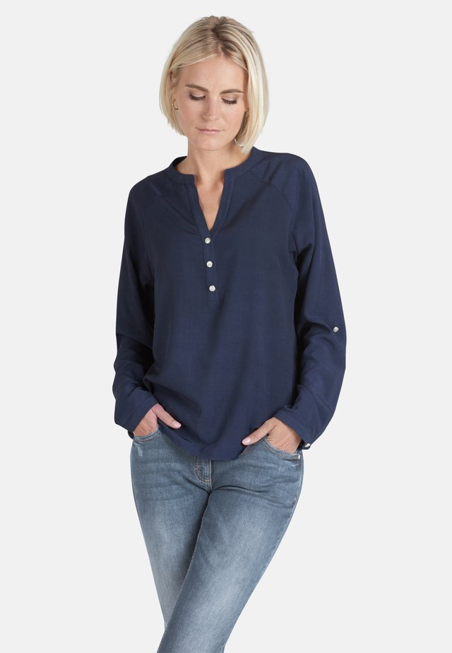 LONG SLEEVE - Blouse - dunkelblau