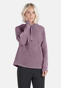 Public - MIT SCHMUCKSTEINEN - Sweatshirt - pink - 0