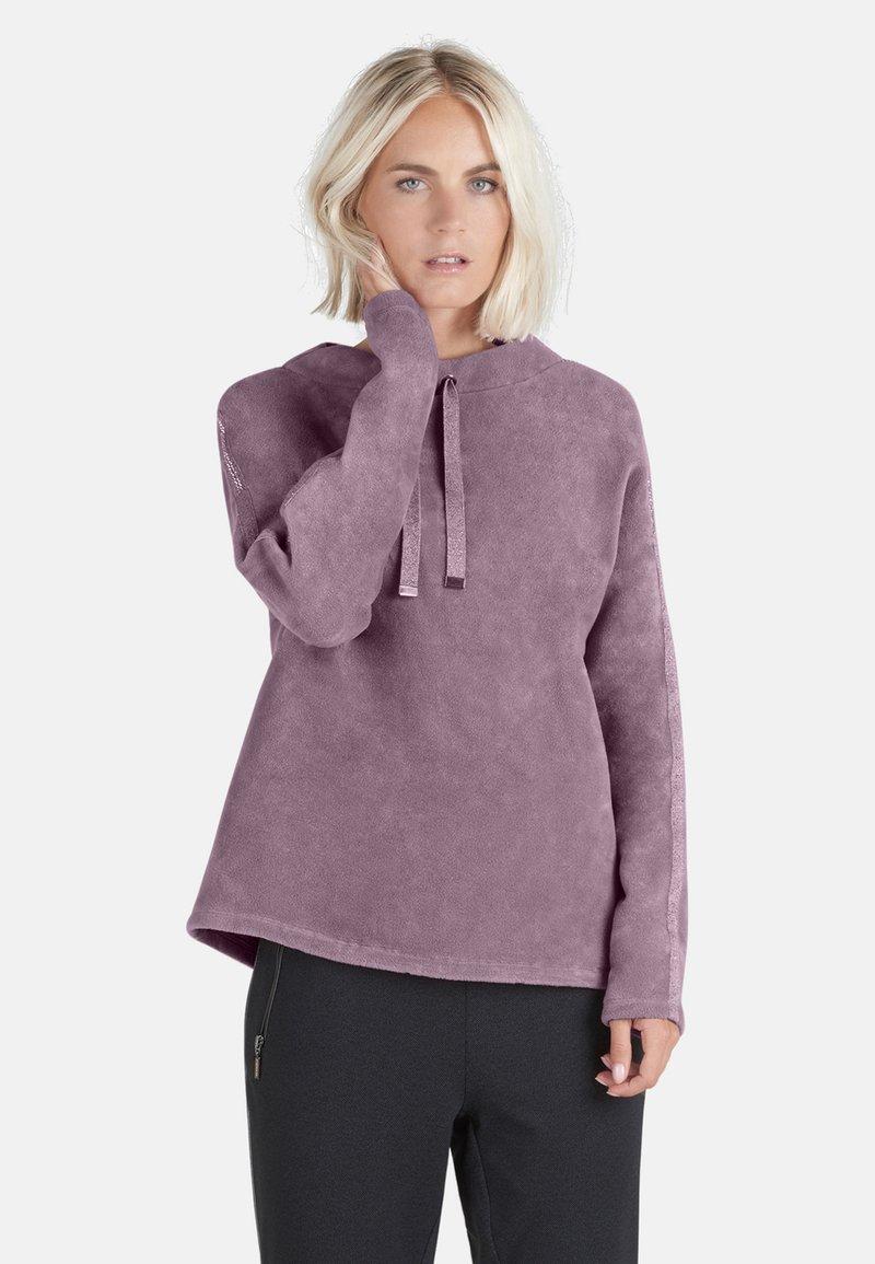 Public - MIT SCHMUCKSTEINEN - Sweatshirt - pink