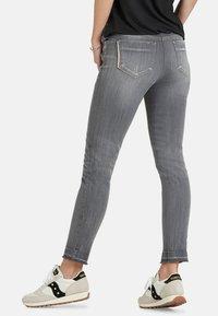Public - Slim fit jeans - light grey denim - 2