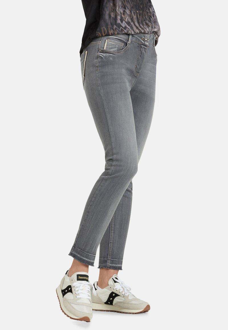 Public - Slim fit jeans - light grey denim
