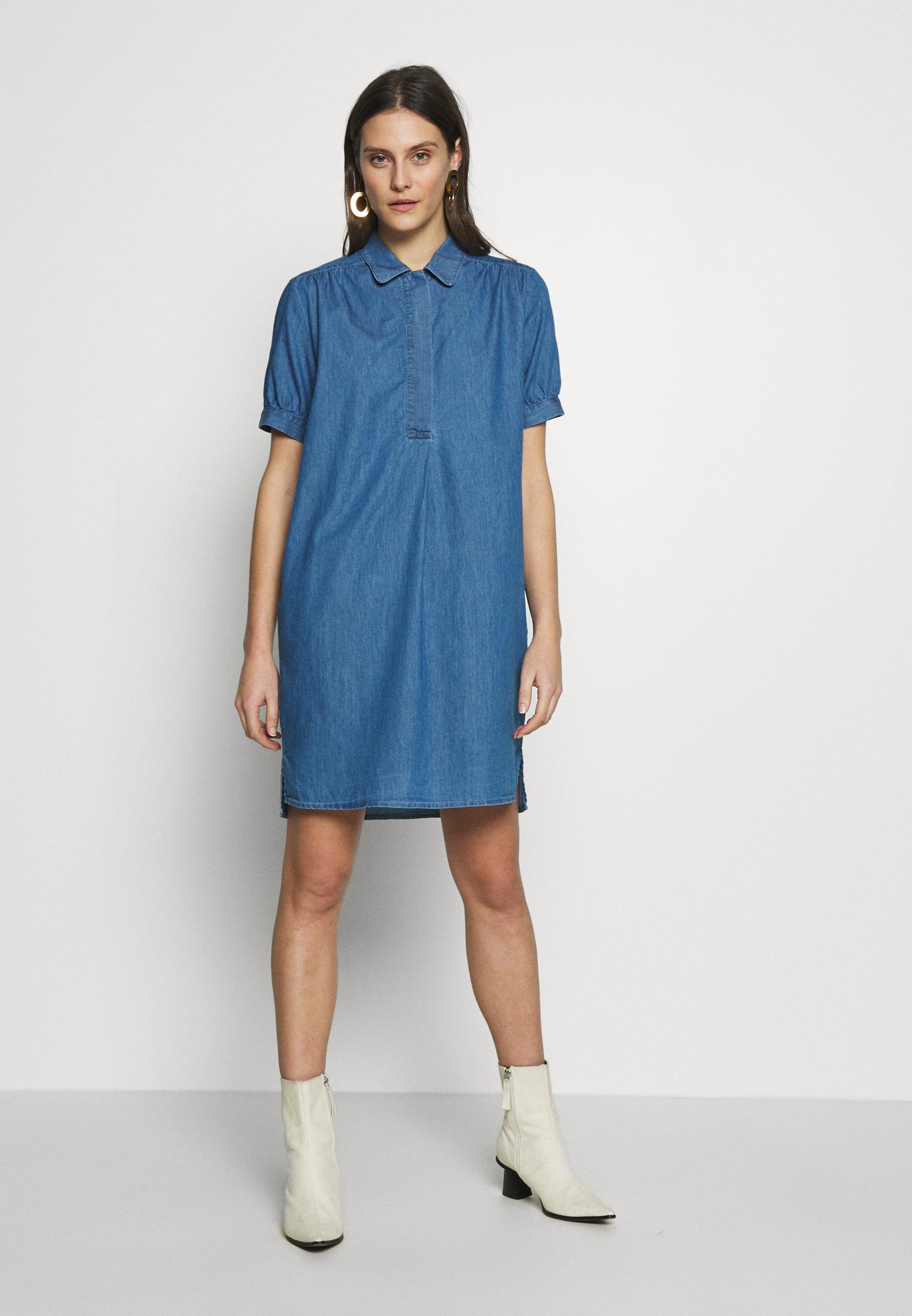 Seidensticker WASHER - Sukienka jeansowa - blau