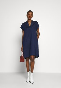 Seidensticker - MALIA  - Day dress - dunkelblau - 1