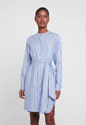 Košilové šaty - blau