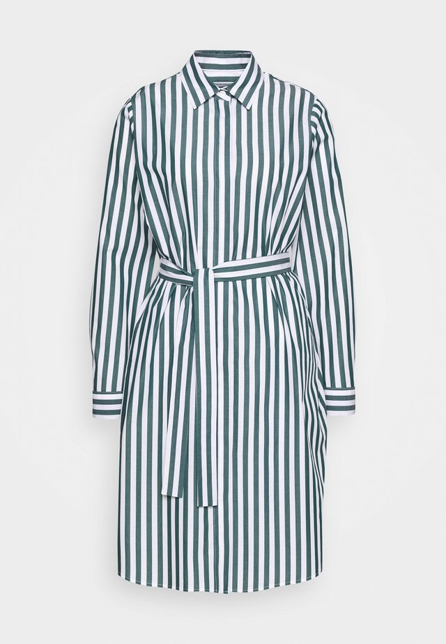 LANGARM - Vestido camisero - grün