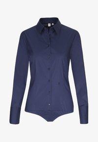 Seidensticker - Komfortable Slim - Button-down blouse - dark blue - 0