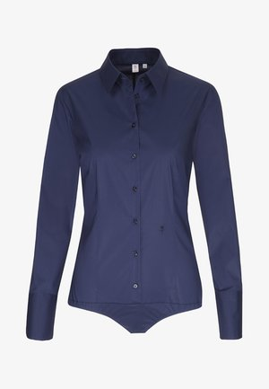 Komfortable Slim - Button-down blouse - dark blue