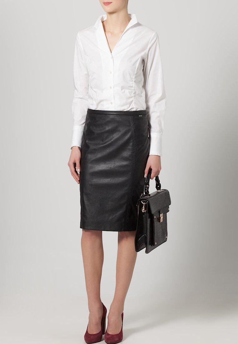 Seidensticker - Button-down blouse - weiß