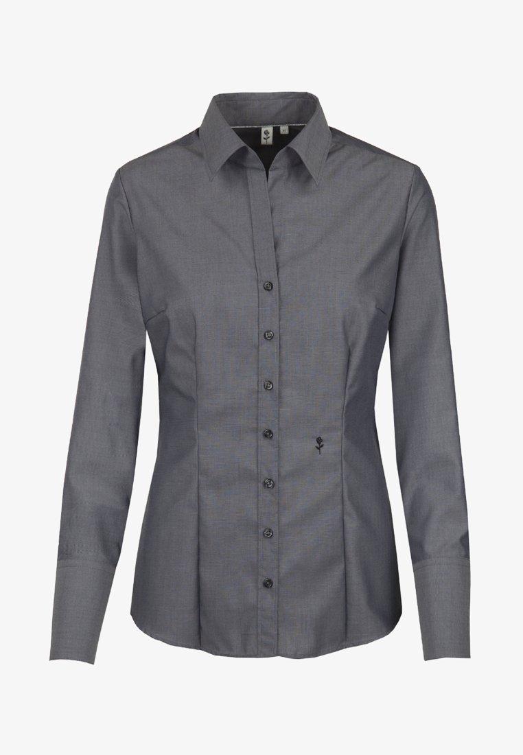 Seidensticker - SCHWARZE ROSE - Button-down blouse - grau