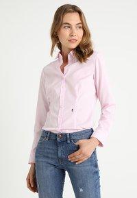 Seidensticker - SCHWARZE ROSE - Overhemdblouse - rosa - 0