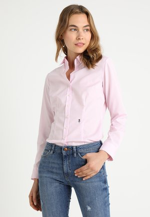 SCHWARZE ROSE - Button-down blouse - rosa