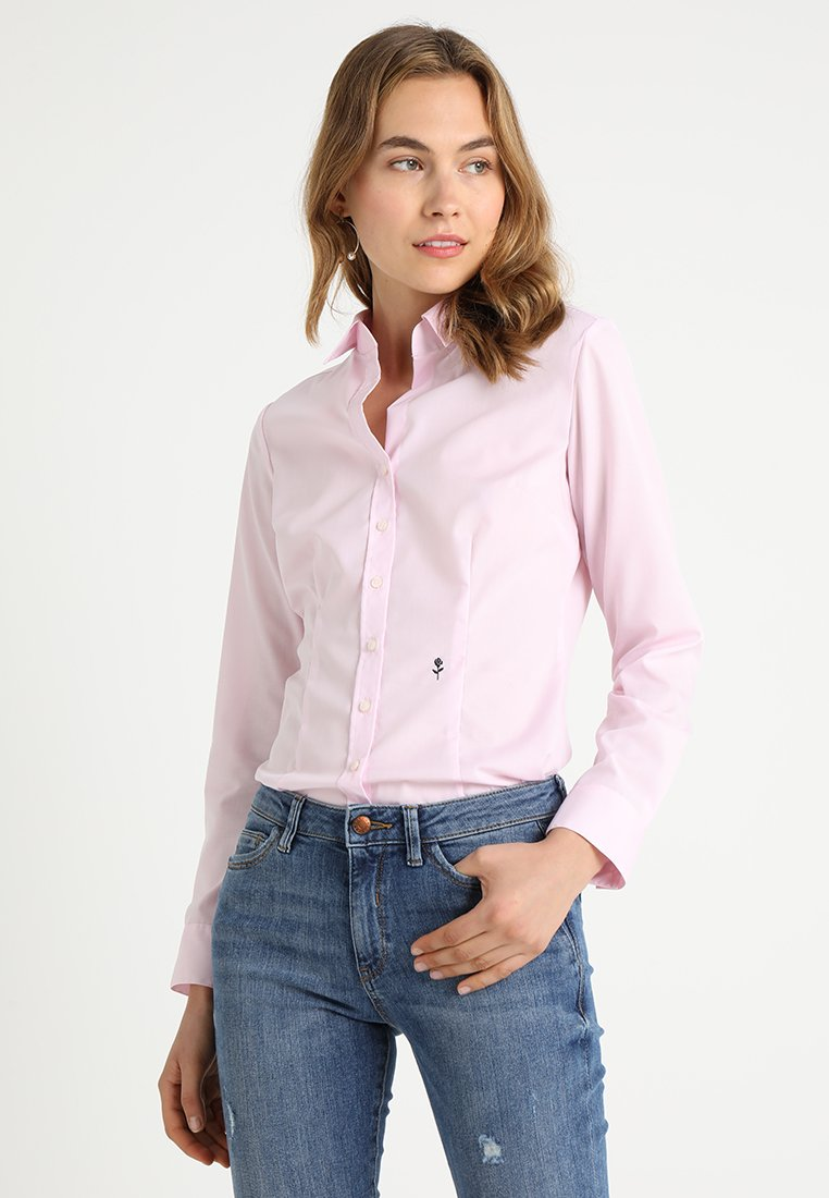Seidensticker - SCHWARZE ROSE - Overhemdblouse - rosa