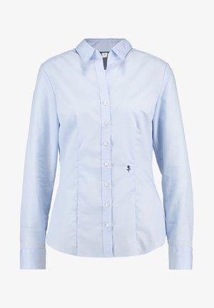SCHWARZE ROSE - Button-down blouse - dark blue