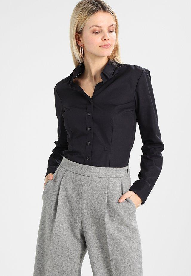 SCHWARZE ROSE - Camicia - black